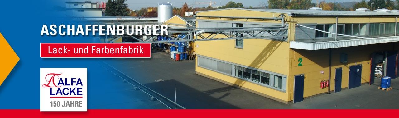 Lackfabrik und Farbenfabrik Aschaffenburg: Jetzt Lack online bestellen